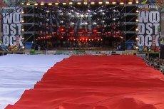 Tak było w 2006 roku. Tym razem flaga Polski również ma się pojawić na Przystanku Woodstock.