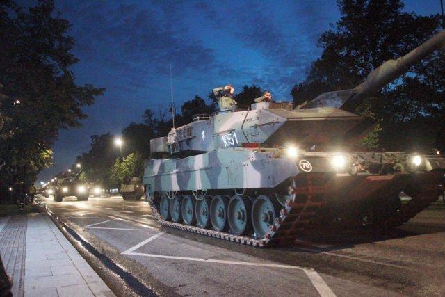 Polscy czołgiści zajęli trzecie miejsce na zawodach broni pancernej