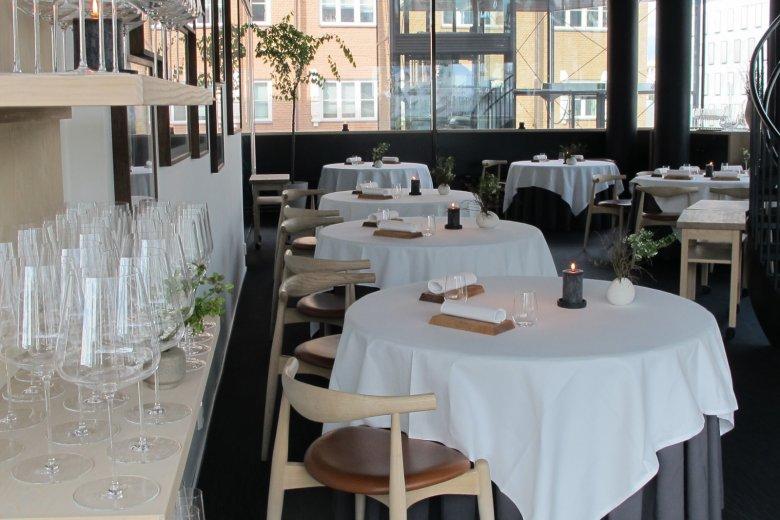 Restauracja Maaemo w Oslo.
