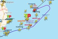 Samolot z Barcelony do Krakowa został zawrócony.