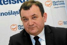 Stanisław Gawłowski jest sekretarzem generalnym PO