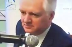 Jarosław Gowin zachował kamienną twarz, mimo komicznej wypowiedzi Jana Szyszki.
