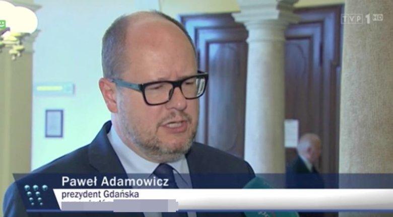 Prezydent Gdańska - Paweł Adamowicz