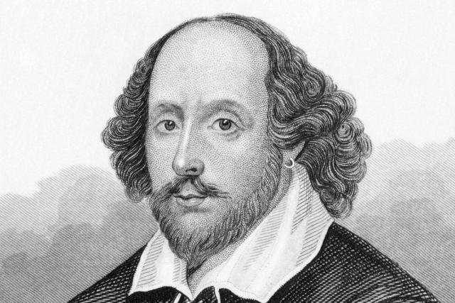 William Szekspir palił marihuanę.