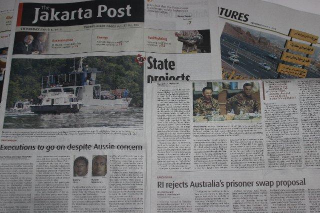 Dżakarckie dzienniki żyją sprawą przemytników.