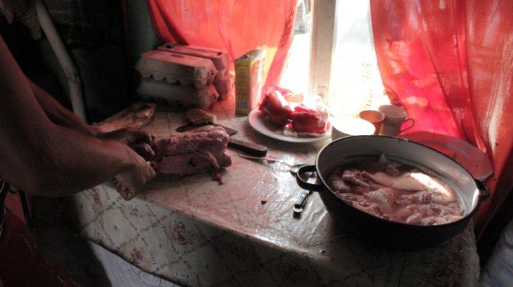 Przygotowywanie mięsa do pieczenia