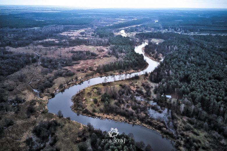 Rzeka Warta w województwie łódzkim