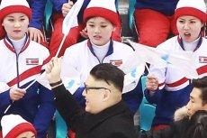 Cheerleaderki z Korei Północnej zostały zaskoczone na igrzyskach w Pjongczang wizytą niespodziewanego gościa.