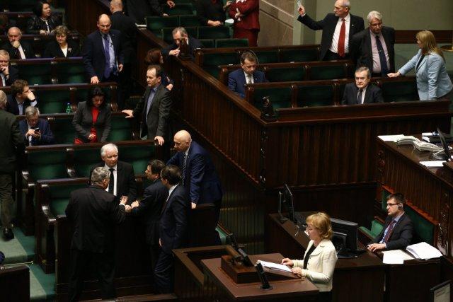 Wczorajsza noc w Sejmie.