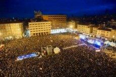 Tak wyglądała Bolonia 19 stycznia. Ruch Sardynek wyszedł na ulice.