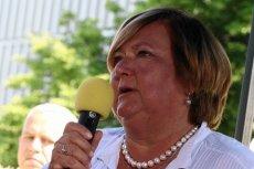Annie Komorowskiej jest przykro, że za rządów Prawa i Sprawiedliwości pozycja Polski na świecie spada.