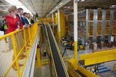 Polskie centra logistyczne Amazona można zwiedzać z przewodnikiem