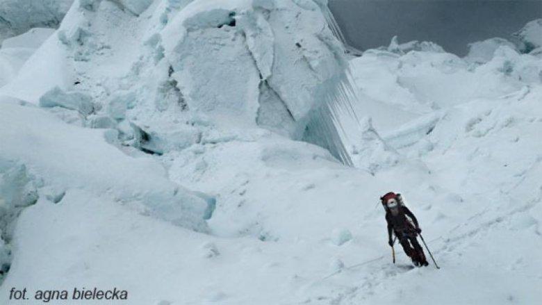 Mateusz Zabłocki w czasie wyprawy na Lhotse