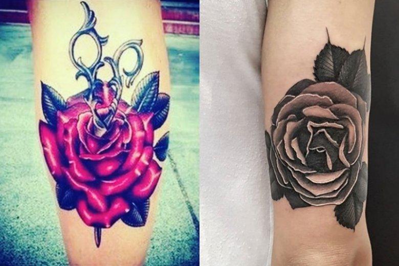 Róża jest ckliwym i kiczowatym motywem