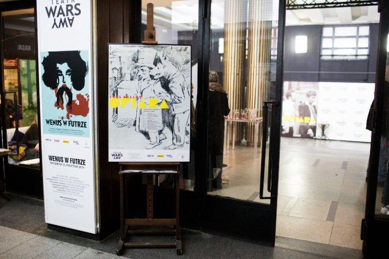 """Na deskach teatru wystawiono m.in. spektakl """"Wenus w futrze"""" Davida Ivesa w reżyserii Agnieszki Lipiec-Wróblewskiej"""