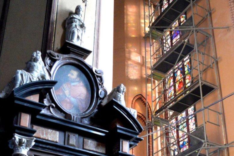 Dzięki unijnym środkom fromborska katedra doczekała się remontu.
