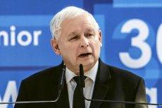 Jarosław Kaczyński chce dwóch województw na Mazowszu.