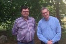 Zbigniew Stonoga i Grzegorz Braun zapowiadają wspólny projekt polityczny.