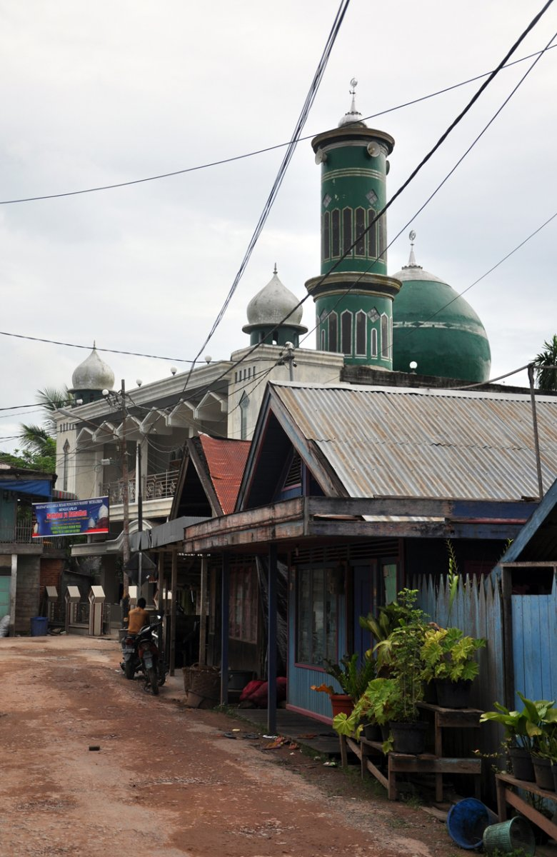 Meczet na Sumatrze
