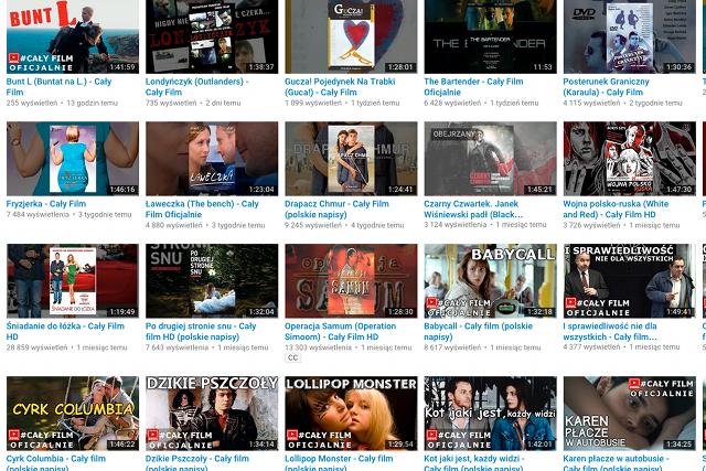 Oglądaj Legalnie Pełnometrażowe Filmy Na Youtube Takich