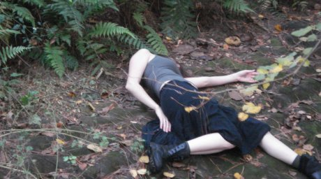 Jedno z ciał znalezionych w Parku Narodowym Ile - Alatau nieopodal Ałma Aty