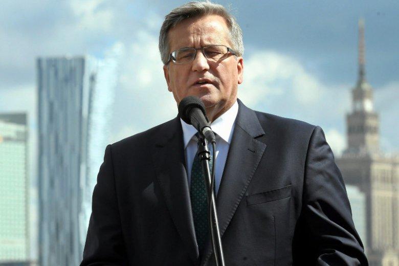 Bronisław Komorowski grozi aresztami wydobywczymi z czasów IV RP