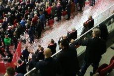 Mecz Polska - Czarnogóra śledziło aż 3 prezydentów Polski.