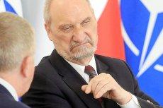 PO zapowiada złożenie wniosku o wotum nieufności wobec ministra obrony narodowej Antoniego Macierewicza.