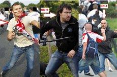 Komenda Stołeczna Policji opublikowała zdjęcia chuliganów biorących udział w rozróbie przed meczem Polska-Rosja.