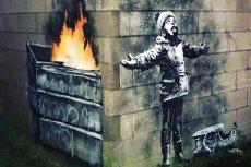 Banksy przyznał, że to on jest twórcą antysmogowego murala w walijskim Port Talbot.