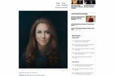 Eksperci i internauci krytykują pierwszy oficjalny portret księżnej Kate.