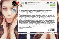 """Maria Sokołowska nazywana """"pogromczynią"""" Donalda Tuska, tłumaczyła dlaczego nie jest antysemitą i homoseksualizm to choroba."""
