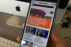 Nowa wersja strony mobilnej naTemat.pl.
