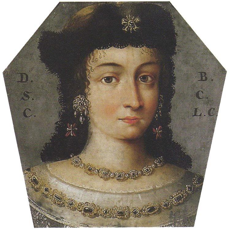 Portret trumienny Domicelli Barbary ze Szczawińskich, ok. 1630-1667/1676, Muzeum Narodowe w  Warszawie