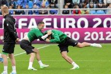 Trening piłkarzy Irlandii