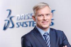 Dariusz Kudzia, Country Manager Dassault Systèmes Polska.