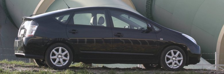 Toyota Prius w 2004 roku.
