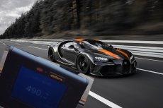 Bugatti Chiron pojechał z prędkością 490 km/h.
