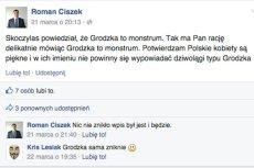 Roman Ciszek zgodził się na Facebooku z Jerzym Skoczylasem