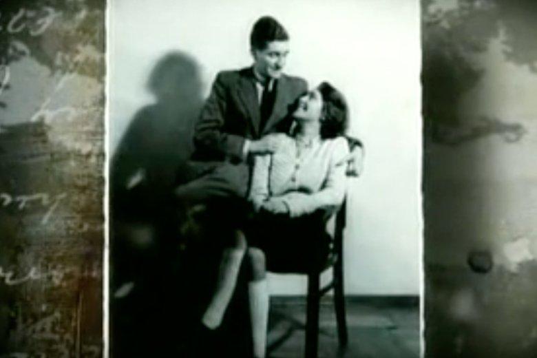 Bill i Lilly, czyli Bolesław i Alicja. Ich ślub został uwieczniony w powstańczych kronikach.
