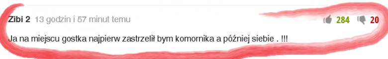 Jeden z komentarzy pod tekstem dot. egzekucji komorniczej.