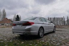 Nowe BMW serii 5 jest napakowane nowymi technologiami.