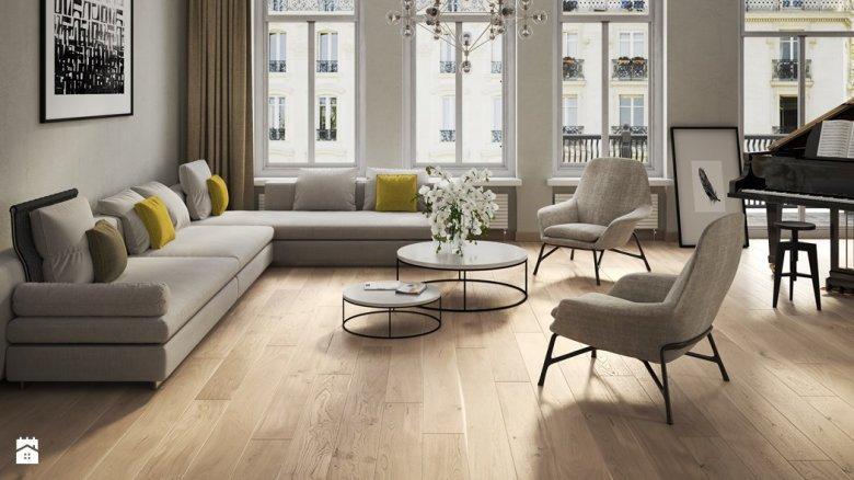 Podłoga drewniana...