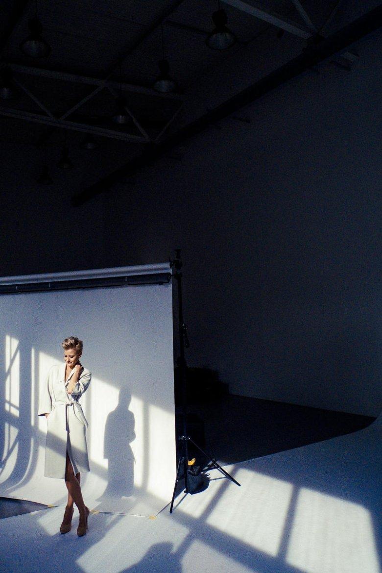 Małgorzata Kożuchowska - backstage sesji Aryton