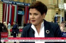 Beata Szydło ostro skrytykowała sytuację we Francji i w Niemczech.