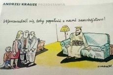 """""""Gość Niedzielny"""" publikuje """"satyrę"""", która zrównuje uchodźców z państw muzułmańskich z terrorystami."""