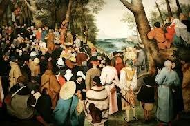 """Pieter Brueghel mlodszy, """"Kazanie św. Jana Chrzciciela"""""""