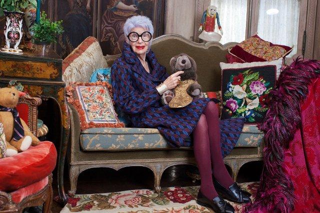 Iris Apfel w kampanii & Other Stories.