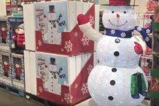 Produkty związane z Bożym Narodzeniem pojawiły się w niektórych sklepach nawet we wrześniu.