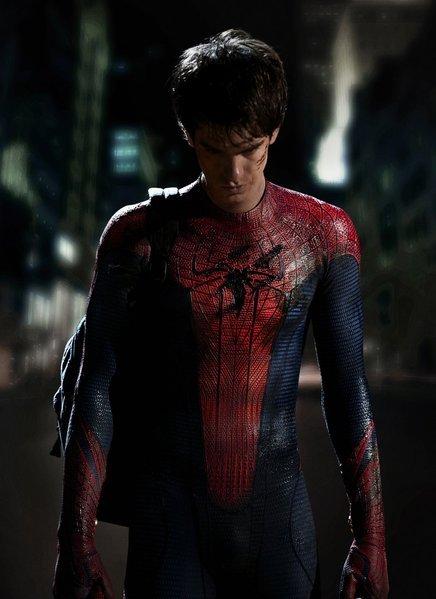 Andrew Garfield jako Człowiek-Pająk